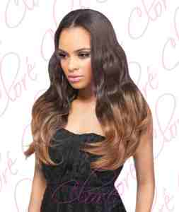 Major differences between Clip in extensions real hair and synthetic clip in